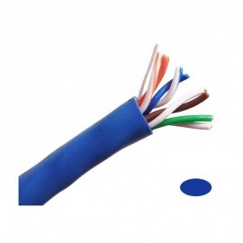 CB5E1KBU CAT5e Network cables 1000' Pull Box - Blue
